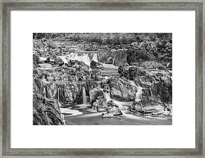 Great Falls Park Framed Print by Henk Meijer Photography