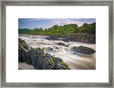 Great Falls Framed Print by Rick Berk