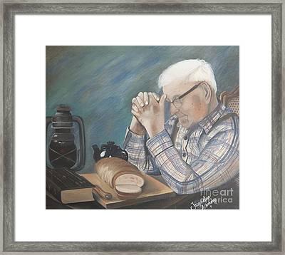 Great Grandpa Framed Print by Jacqueline Athmann