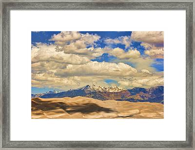 Great Sand Dunes National Monument Framed Print by James BO  Insogna