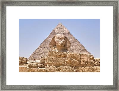 Great Sphinx Of Giza - Egypt Framed Print by Joana Kruse
