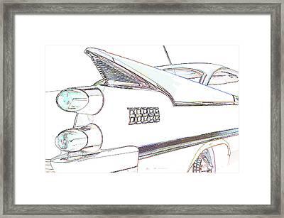 Great White Shark Framed Print by Gary Adkins