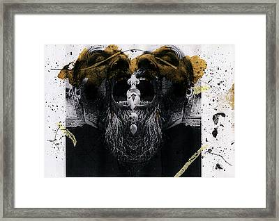 Grebo 05 Framed Print by Grebo Gray
