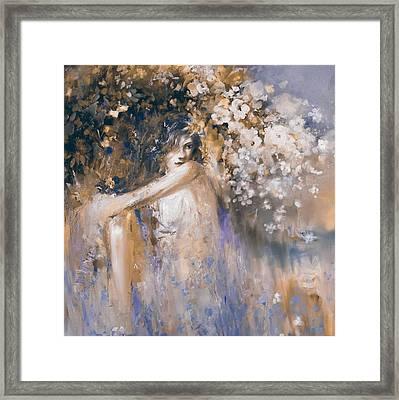 Greece Woman 174 3  Framed Print by Mawra Tahreem