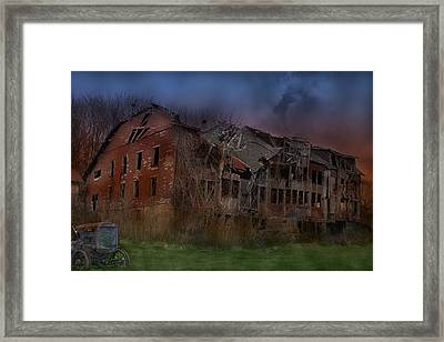 Green Acres Framed Print by Shelley Neff
