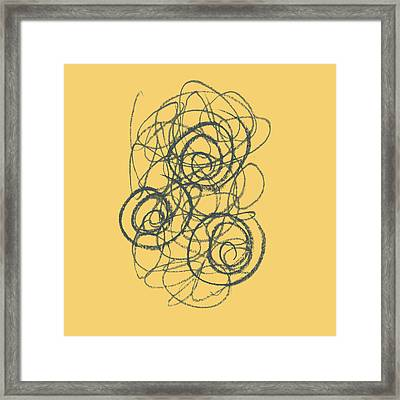 Green And Gold 2 Framed Print by Julie Niemela