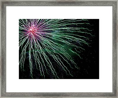 Green Independence Framed Print by Adam Long