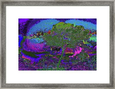 Green Life Don't Think Twice Framed Print by Kenneth James