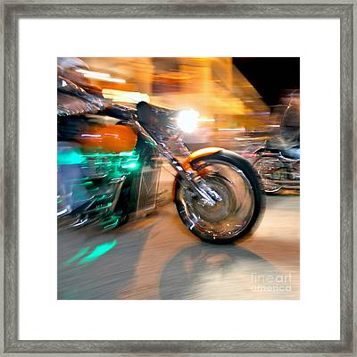 Green Machine Framed Print by Glennis Siverson