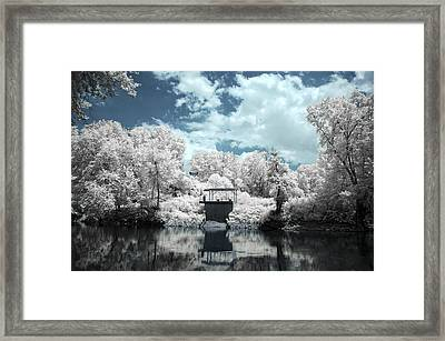 Green River Ir Framed Print by Amber Flowers