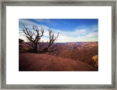 Green River Overlook Framed Print by Edgars Erglis
