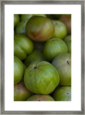 Green Tomatoes Framed Print by Robert Ullmann