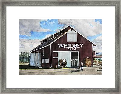 Greenbank Farm Framed Print by Perry Woodfin