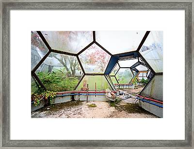 Greenhouse From Out Of Space - Urban Exploration Framed Print by Dirk Ercken