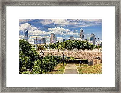 Greenway Framed Print by Chris Austin