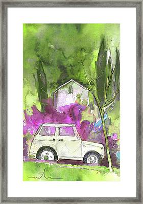 Greve In Chianti In Italy 02 Framed Print by Miki De Goodaboom