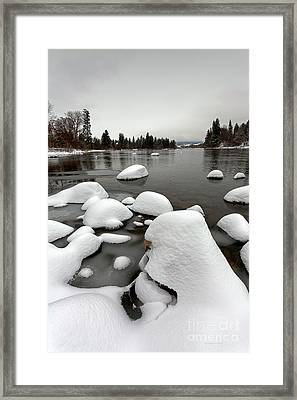 Grey Day Framed Print by Beve Brown-Clark Photography