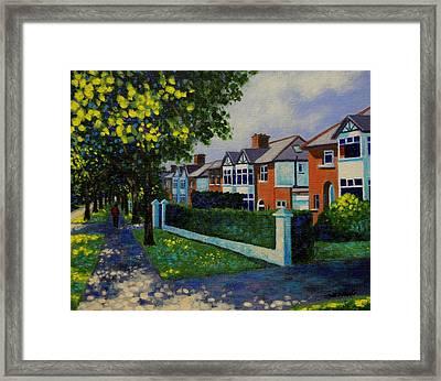 Griffith Avenue Dublin  Framed Print by John  Nolan