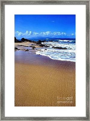 Gringo Beach Vieques Puerto Rico Framed Print by Thomas R Fletcher