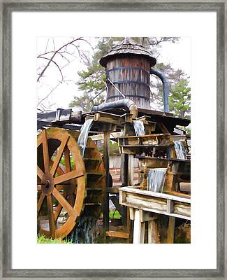 Grist Mill 1 Framed Print by Lanjee Chee