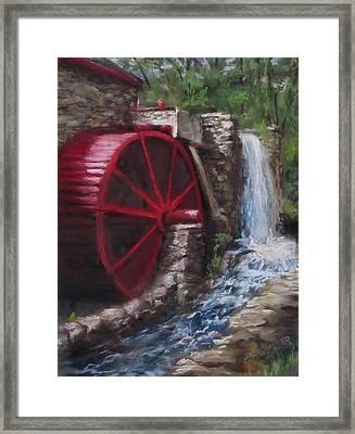 Gristmill Framed Print by Jack Skinner