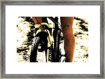 Grit  Framed Print by Steven  Digman