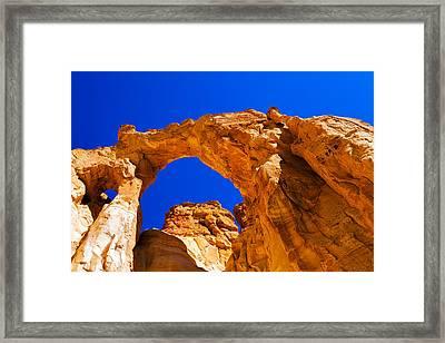 Grosvenor Arch Framed Print by Chad Dutson