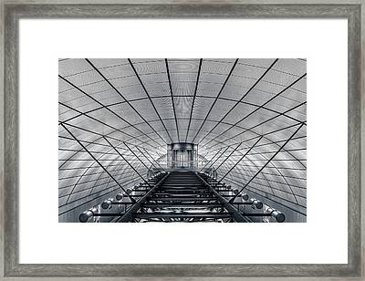 Ground Control Framed Print by Oscar Lopez