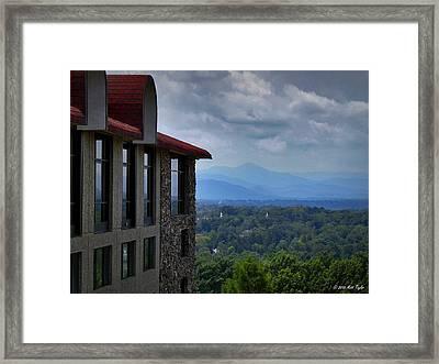 Grove Park Inn View Framed Print by Matt Taylor