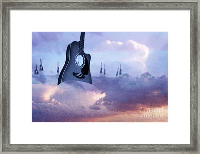 Growing A Country Song Framed Print by Cathy  Beharriell
