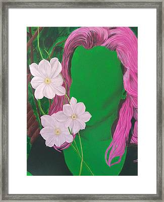 Growing Framed Print by Danielle Moore