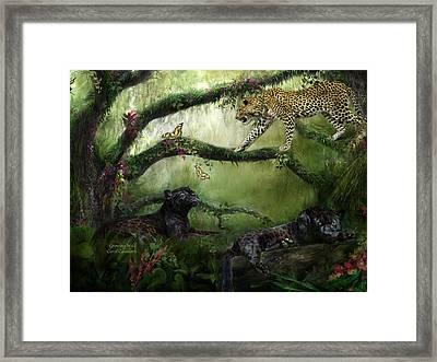 Growing Wild Framed Print by Carol Cavalaris
