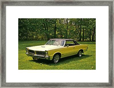 Gto-2 Framed Print by Robert Pearson