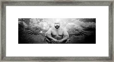 Guardian Angel Framed Print by Bear Pictureart
