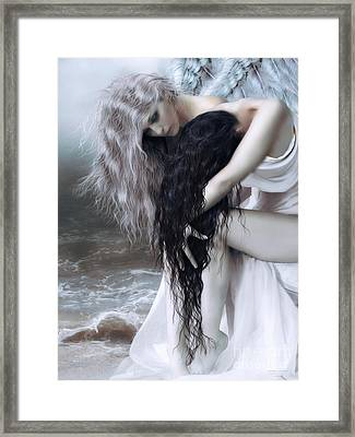 Guardian Angel Framed Print by Shanina Conway