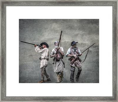 Guardians Of The Frontier Framed Print by Randy Steele