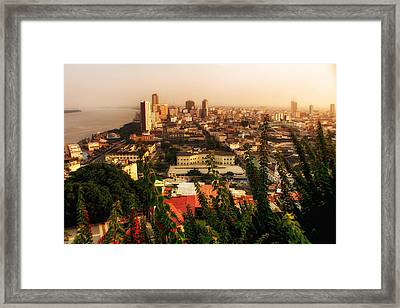 Guayaquil Ecuador 2 Framed Print by Gestalt Imagery