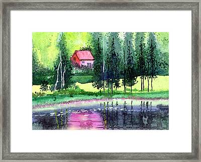 Guest House Framed Print by Anil Nene