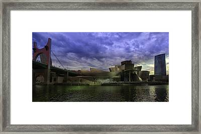 Guggenheim Bilbao Framed Print by Contemporary Art