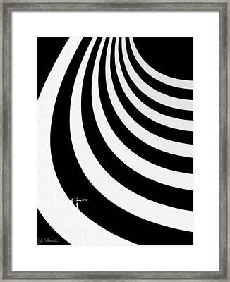 Guggenheim Plus Framed Print by Joe Bonita