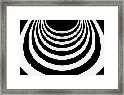Guggenheim Plus Plus No. 1 Framed Print by Joe Bonita