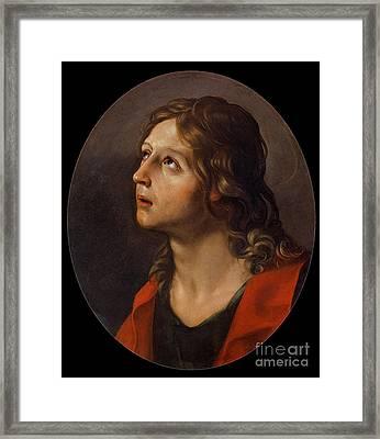 Guido Reni Framed Print by John the Evangelist