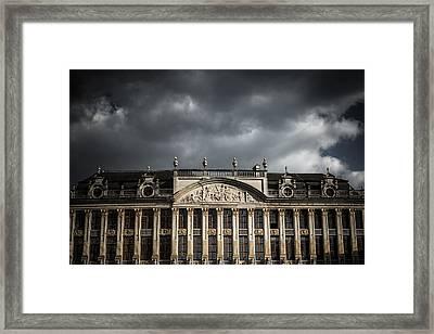Guild Houses Framed Print by Chris Fletcher