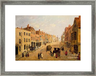 Guildford High Street Framed Print by English School