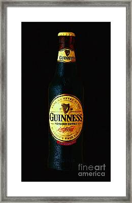 Guinness Framed Print by Wingsdomain Art and Photography