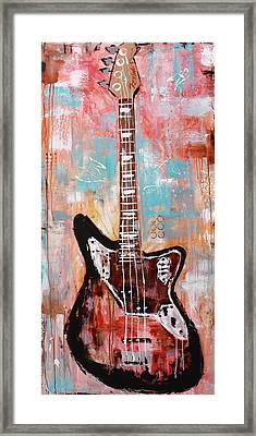 Guitar 10 Framed Print by Kayla Mallen