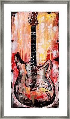 Guitar 9  Framed Print by Kayla Mallen