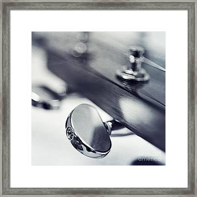 guitar I Framed Print by Priska Wettstein