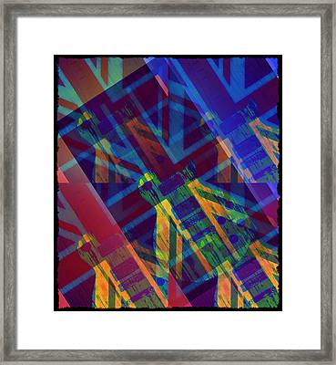 Guitar Revolution Framed Print by Bill Cannon