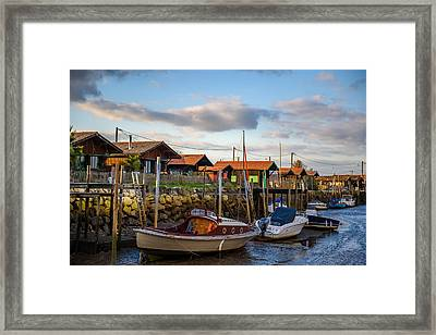 Framed Print featuring the photograph Gujan Mestras IIi by Thierry Bouriat